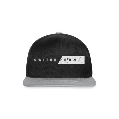 Switchbone_white - Snapback cap