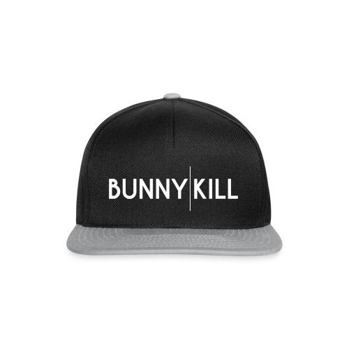 bunny kill logo 02 weiss frei png - Snapback Cap