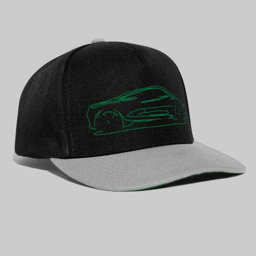 car sketch - Snapback Cap
