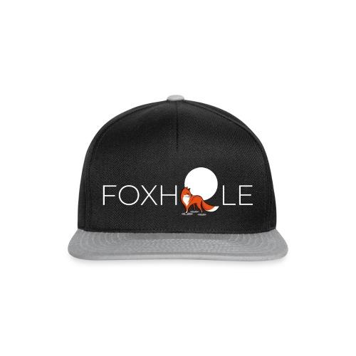 Foxhole Moon White - Snapback Cap