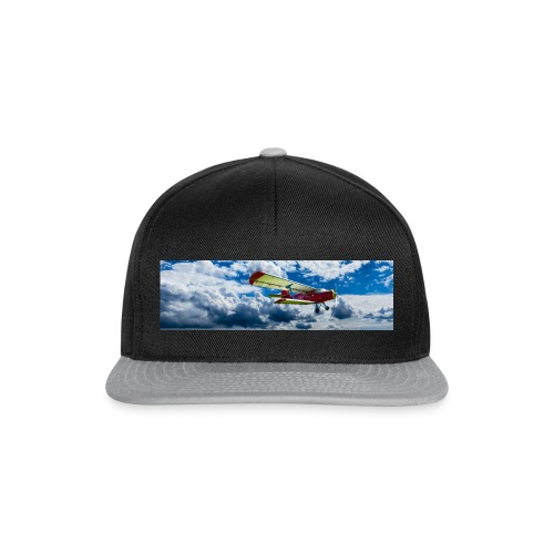aircraft flying - Casquette snapback