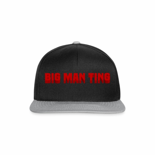 big man ting - Snapback Cap