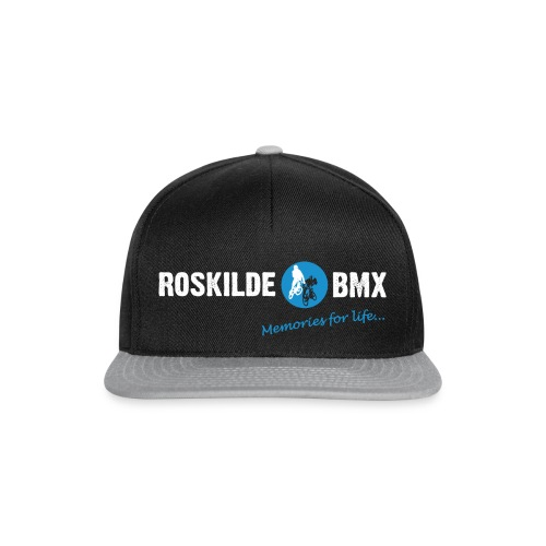 RoskildeBMX Back Large light png - Snapback Cap