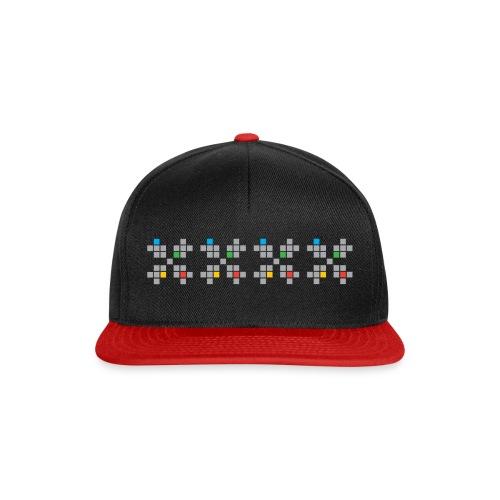 HSF logo BORDE - Snapback-caps