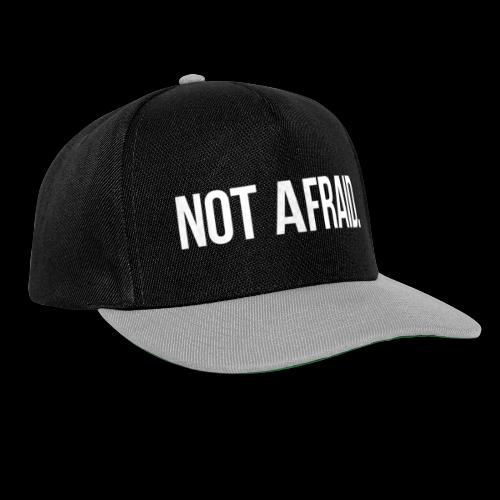 Not Afraid - Snapback Cap