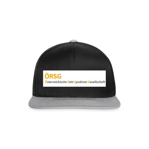 Text-Logo der ÖRSG - Rett Syndrom Österreich - Snapback Cap