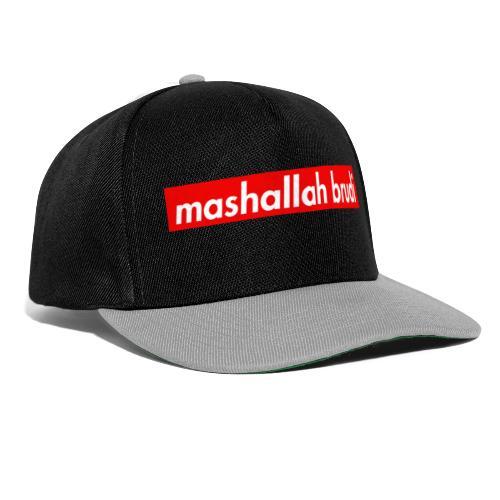 mashallah brudi - Snapback Cap