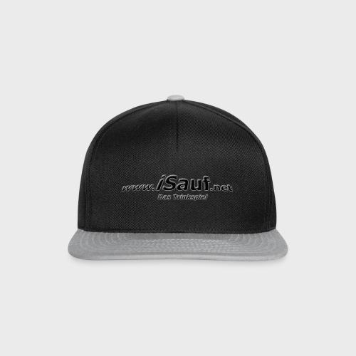 iSauf-Schriftzug - Snapback Cap