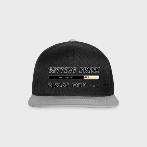 Getting Drunk - Snapback Cap