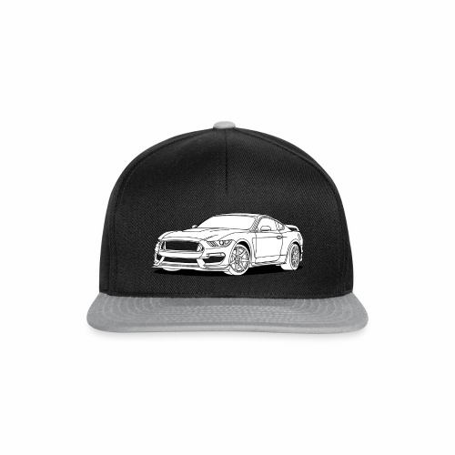 Cool Car White - Snapback Cap