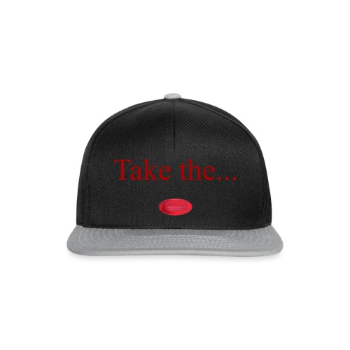 Take The Red Pill - Snapback Cap