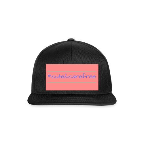 Cute & Carefree - Snapback Cap