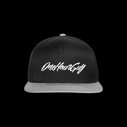 OneHourGuy Logo Italic - Snapback Cap