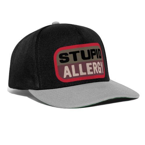 Stupid allergy - Airsoft Meme - Gorra Snapback
