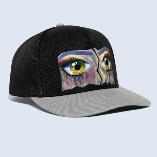 "Augenblick ""open eyes"" made in Berlin - Snapback Cap"