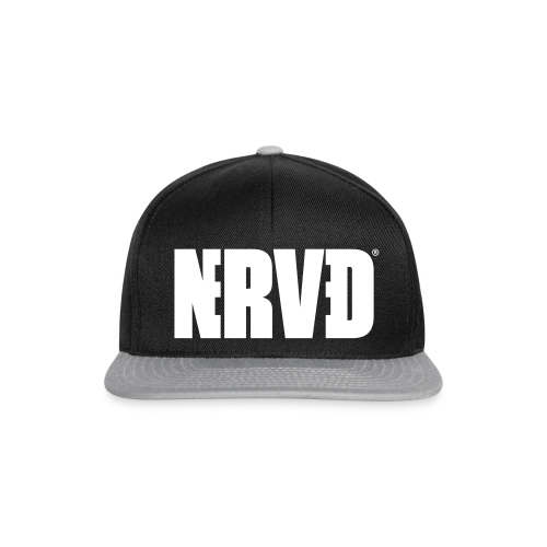 Official Nerved@ White Logotype - Snapback Cap