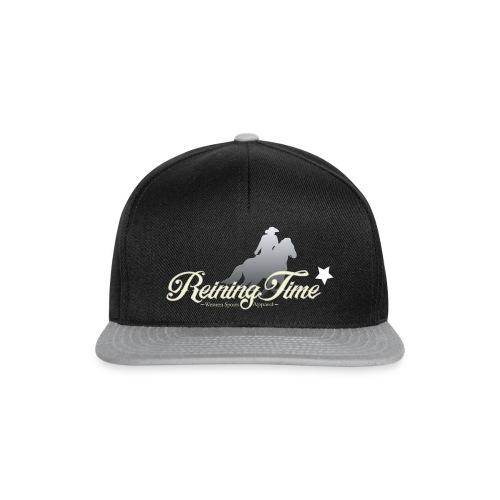 Reiningtime Brand Logo Design - Snapback Cap