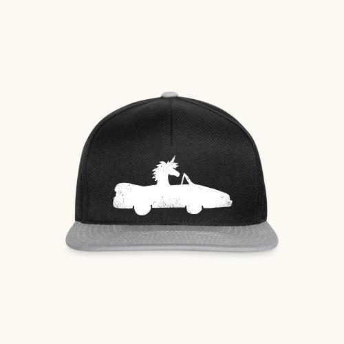 Cadeau de permis de conduire drôle de voiture de la Licorne convertible - Casquette snapback