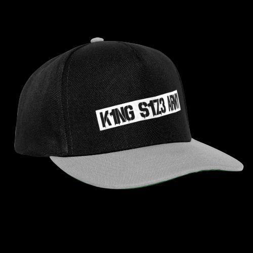 ksa logo weiß - Snapback Cap