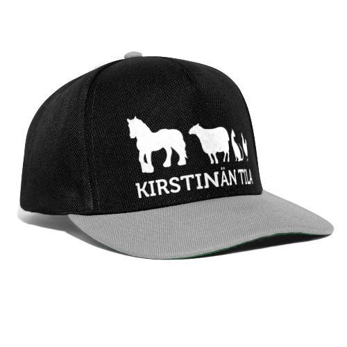 Kirstina Tila - MV NEG - Snapback Cap