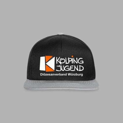 logo_kj_dv-wue_invert - Snapback Cap