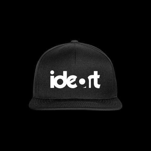 ideart Hvid Logo print - Snapback Cap