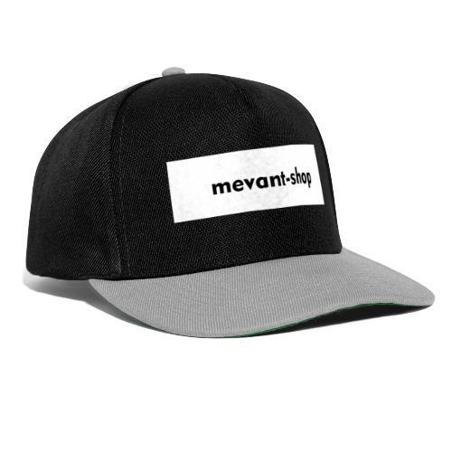 Mevant-shop Beschriftung - Snapback Cap