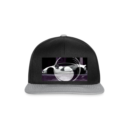 lion black lyon design - Snapback Cap