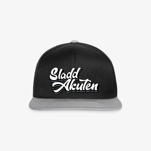 SladdAkuten Graffiti Logo - Snapbackkeps