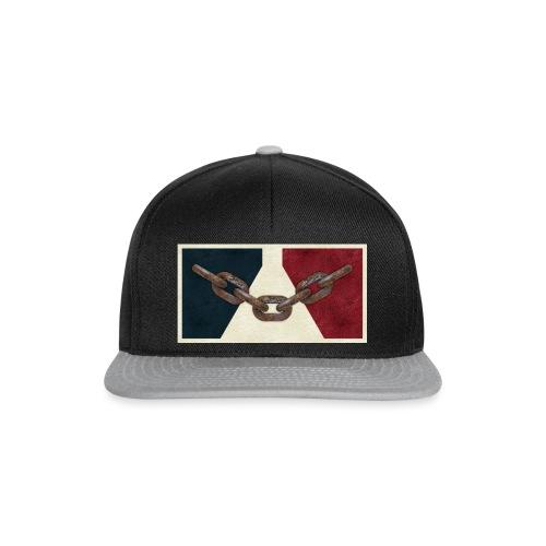 Black County Flag - Snapback Cap
