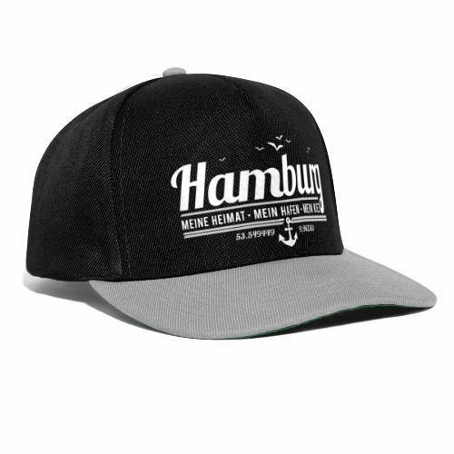 Hamburg - meine Heimat, mein Hafen, mein Kiez - Snapback Cap