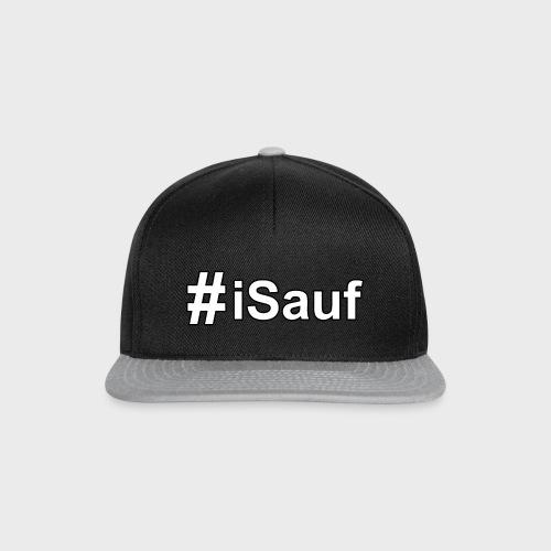 Hashtag iSauf klein - Snapback Cap