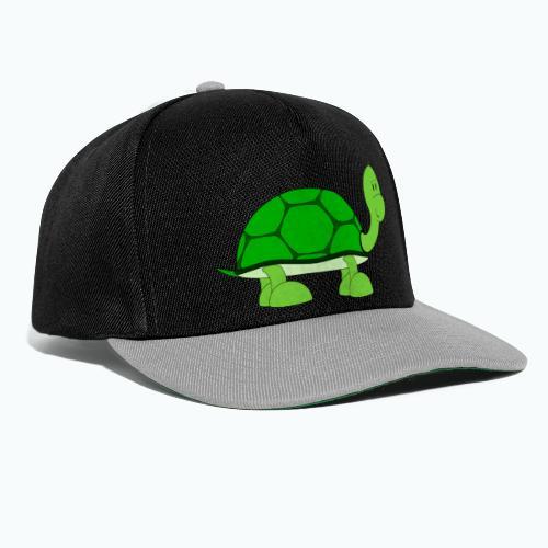 Totte Turtle - Appelsin - Snapbackkeps