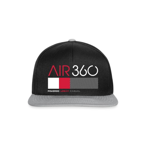 Air360black - Gorra Snapback