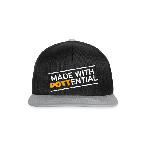 Made-with-Pottential schraeg - Snapback Cap