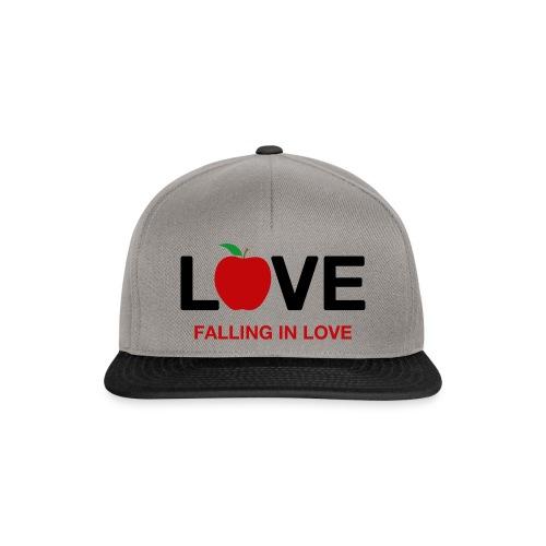 Falling in Love - Black - Snapback Cap