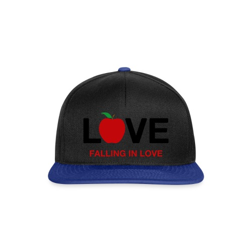Falling in Love - Black - Snapback Cap