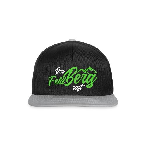 Slogan der FeldBerg ruft Dunkelgrün - Snapback Cap