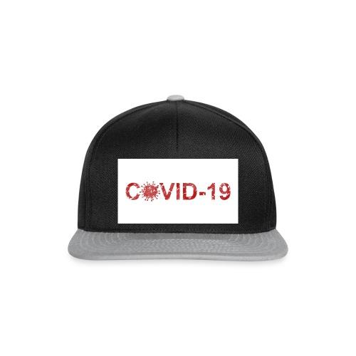 covid 19 - Gorra Snapback