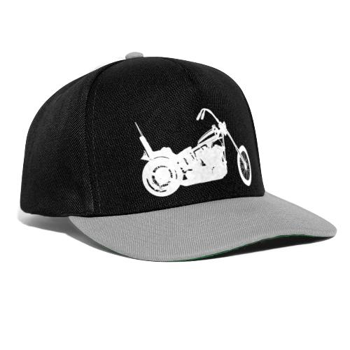 Chopper - hvid - Snapback Cap