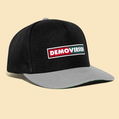 Du auf der Demo – Deine Demoversion - Snapback Cap