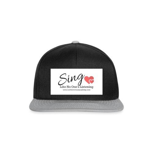 Sing Like No One's Listening - Snapback Cap