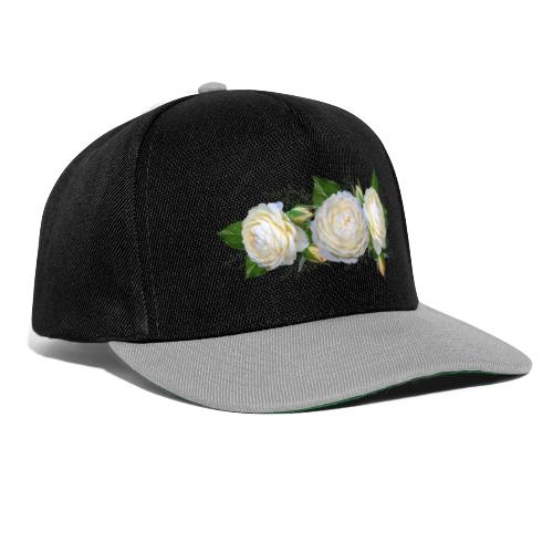 rose Blanche - Casquette snapback