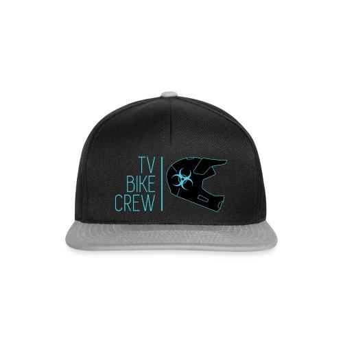 TVBikeCrew Cyan - Snapback Cap