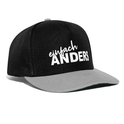 einfach ANDERS - Snapback Cap