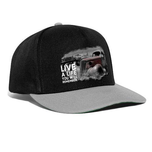 Live a life Oldtimer - Snapback Cap