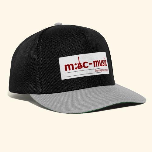 mtc music - Snapback Cap