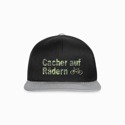 Cacher auf Rädern - Snapback Cap