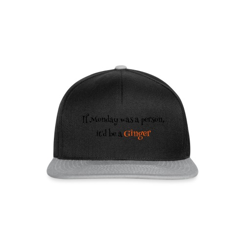 ginger1 - Snapback Cap