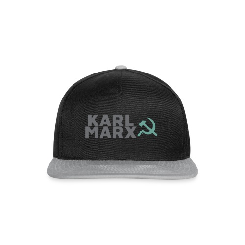 Karl Marx Logo - Snapback Cap